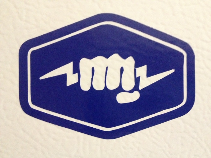Limited-edition Holdster Logo Sticker