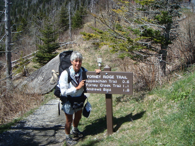 Clinker backpacking on the Appalachian Trail