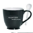 Relentless coffee cup