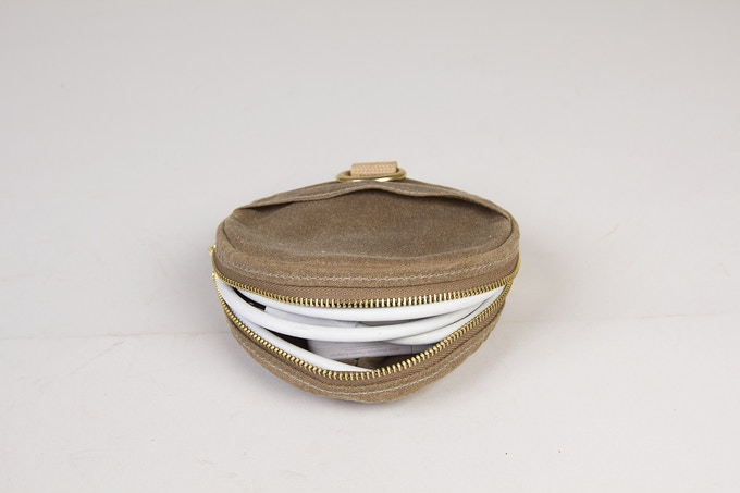 Canteen Cord Pouch in Ranger Tan