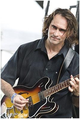 Rockin' Johnny Burgin - guitar & vocals