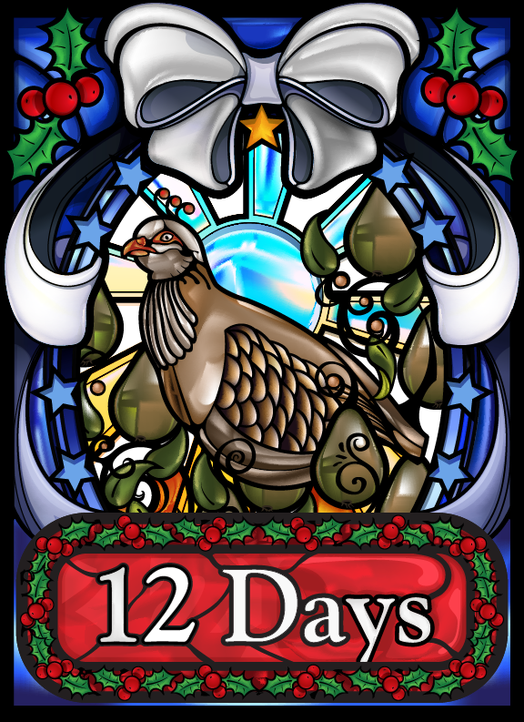 12 Days Cover Illustration. See more art at our Facebook page!