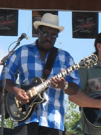 "Charles Hayes  ""The Delta Blues Hog"", guitar/vocals"