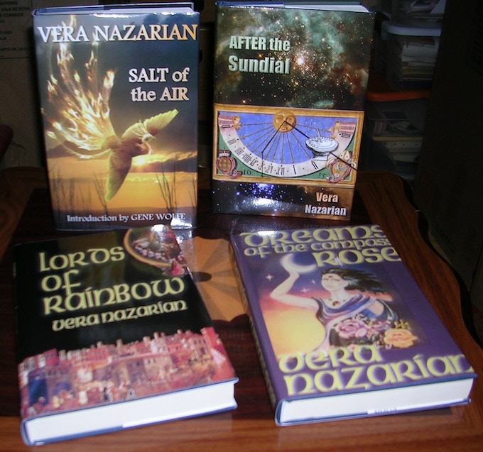 Hardcovers -- including out-of-print Rare First Editions of DREAMS OF THE COMPASS ROSE and LORDS OF RAINBOW!
