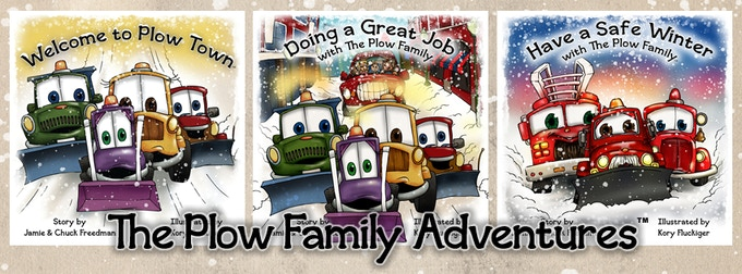 All 3 Plow Family Stories are available as inividual books or as one collection!