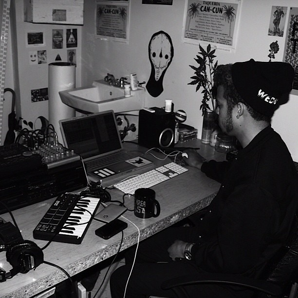 In the studio with D33J