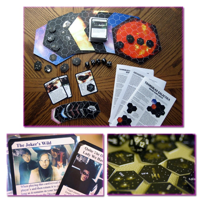 Now you can control the fate of the galaxy with a roll of the dice! The Transolar Galactica Board Game was created and designed by Transolar Super-Fan, Woody Arnold.