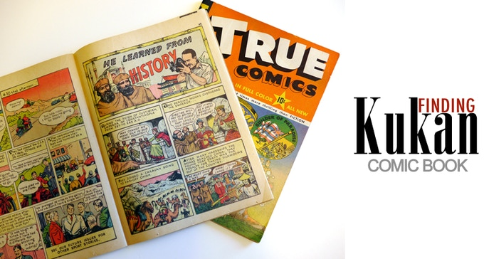 Rare 1942 Comic Book featuring a Rey Scott KUKAN Adventure for $400 pledge