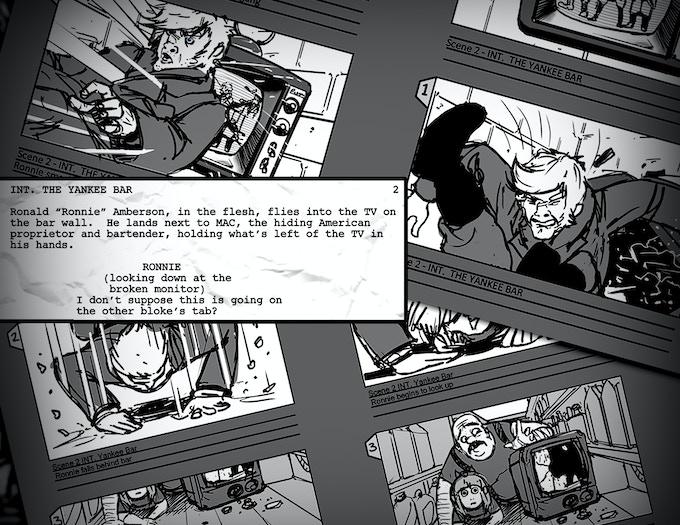 Storyboards & Script Excerpts
