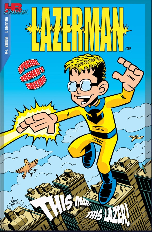 """Variant cover #1: The """"Backer's Edition"""" by Chris Giarrusso"""