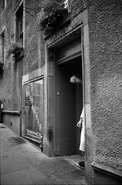 Edinburgh, Scotland, 2005. From UNPOSED.
