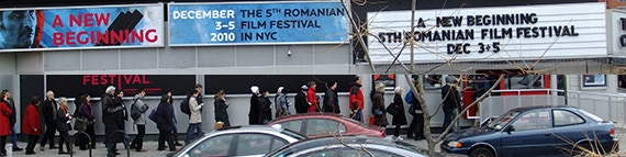 Line to see a movie in the festival (2010)