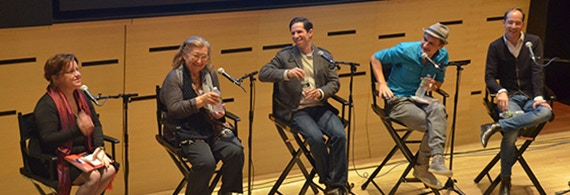 Panel at Lincoln Center (2011)
