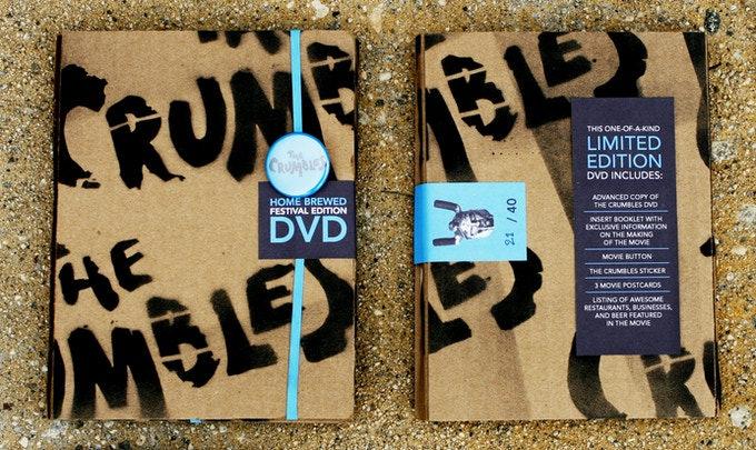 "THE CRUMBLES ""Home Brewed"" Edition DVD"