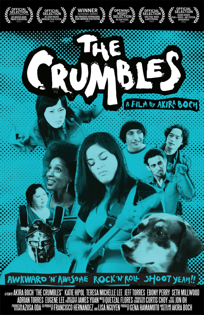 "THE CRUMBLES Official Movie Poster (11x17"" or 27x40"")"