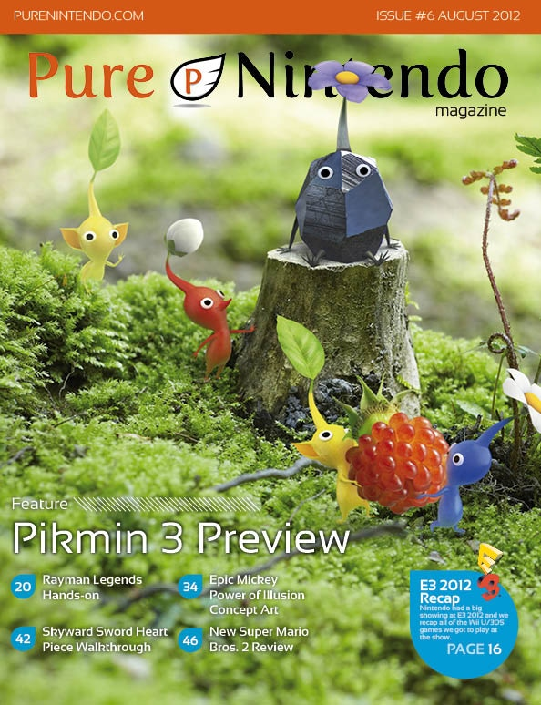 Click to view the current issue of Pure Nintendo Magazine