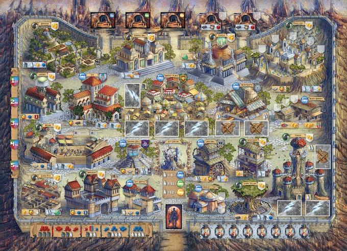 Final game board