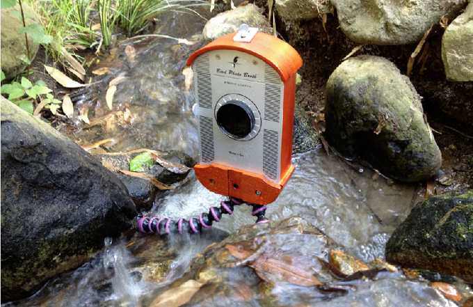 Let your imagination run wild. Shooting a time-lapse with iPhone 4s in a running stream.