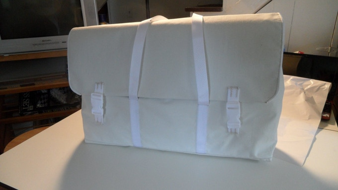 The Keep (Fabric) Prototype, Messenger Style