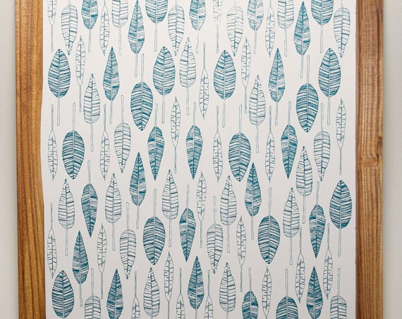 Unframed 8x10 Feather Print by Greensboro Business Heart & Craft