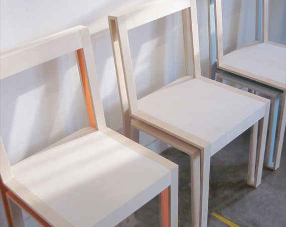 One Wooden Chair from Raleigh Based Company Burketown