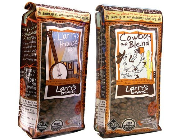 2 Bags of Coffee from Raleigh Based Larry's Beans