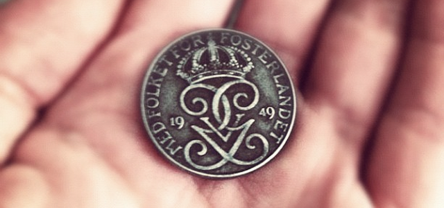 A coin that Lily wishes on that then becomes part of the treasure at the bottom of the well.