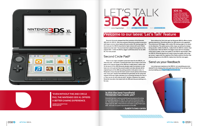 Let's Talk 3DS XL Editorial