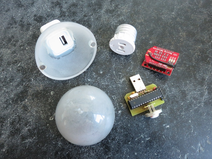 Parts for the DIY version of Visualight