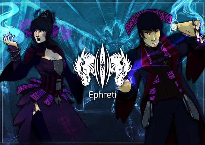 The Ephreti overlords are bent on revenge against those they once protected. Their music is distorted, bent, and griping. They have mastered the realm of Entropy and delight in using Remixes, Heavy Metal and Experimental pieces of music.