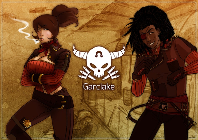 The Garciake are a wild people. Their home is a haven of pirates, cowboys and independent captains. Law is foreign to these parts. They have a natural knack for getting into trouble. They live the Blues, sing the Gospel, and believe in Rock and Country.