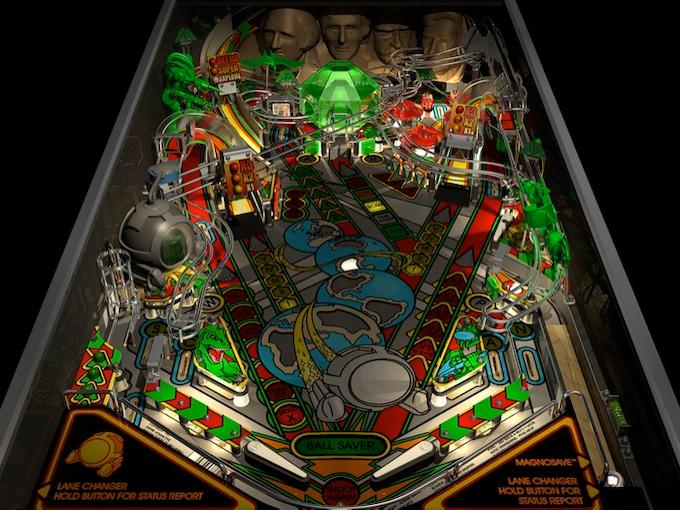 Timeshock! Playfield (1997 version)