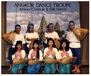Angkor Dance Troupe in 1986