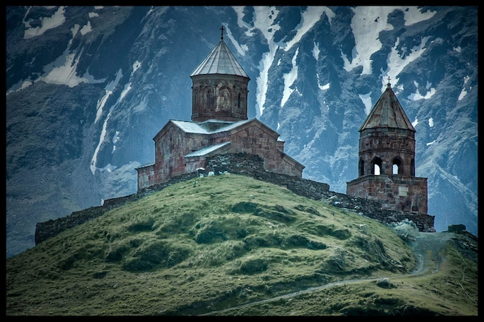 Georgia: Mt.Kazbegi. Come visit soon. Or come & stay: Teach and Learn