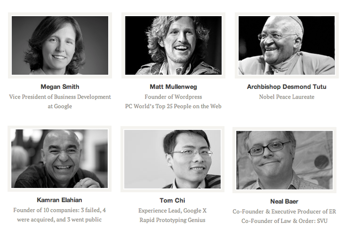 There's still more to be announced: who knows who else might be joining the Unreasonable Mentors...