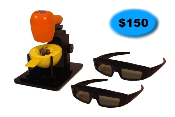 Tiger Cam System with two pairs 3D Glasses