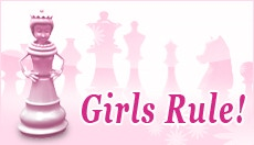 A Pretty Peep in Pink: Here's a version of my chess queen peep in pink.  The game will, of course, allow for alternate colorations of the chess pieces.