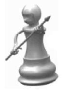 Pawn peeps are your loyal foot soldiers, trustworthy and ready to sacrifice themselves in the call of duty.