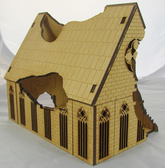 25mm Gothic Ruined Design