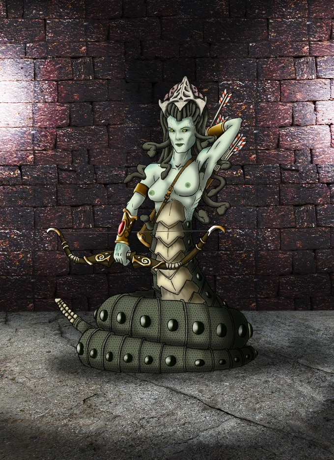 The wicked Medusa