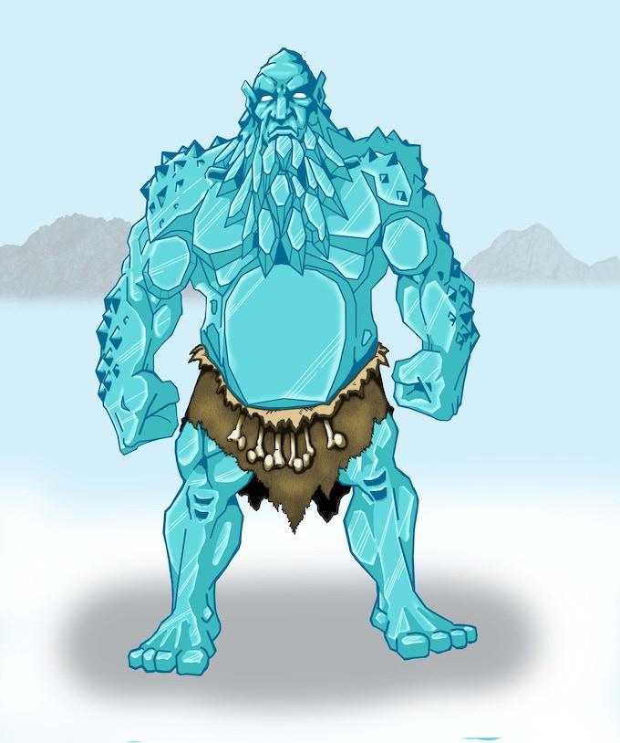 Jotun Drengr (ice giant warrior)
