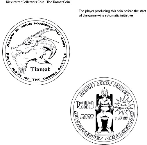 The collectors addition Tiamat Coin!