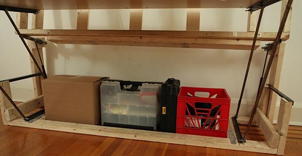 Lots of storage space!