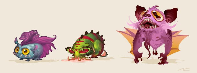 Original creatures roam the lands of Kalea