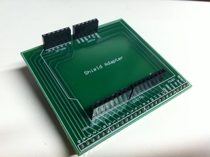 Breadboard Shield-Adapter