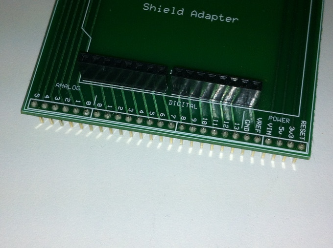Shield-Adapter Header pins