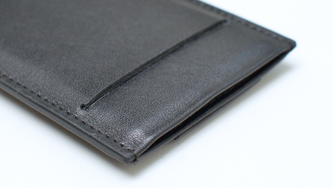 Fast access front-pocket, secure interior pocket