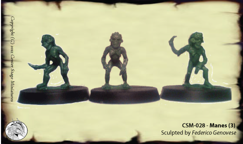 28mm Demons & Devils - Center Stage Miniatures by Center