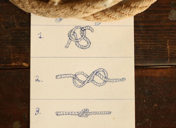 KID'S CLASS REWARD: Knot Tying. (Adults welcome). Anna Dunn