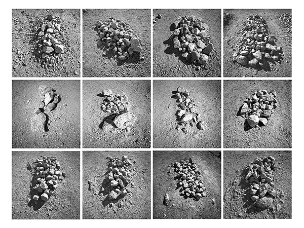 © Keith Johnson - Yuma Rocks. 16x20 signed & matted Silver Gelatin Fiber Print